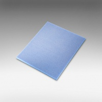 7972Siasponge Одност. цв.губки 140*115*5 м P220 #800 ULTRAFINE голубая
