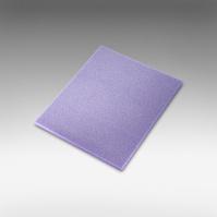 7972Siasponge Одност. цв.губки 140*115*5 м P320 #1500 MICROFINE фиолетовая