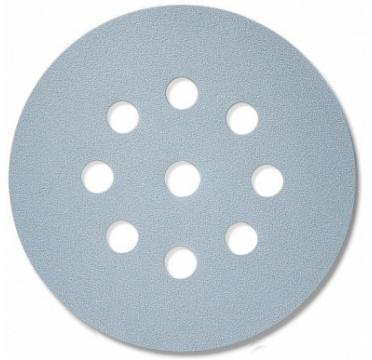 Абразивный материал в кругах D125 мм, 9 отверстий  Р40 SIA