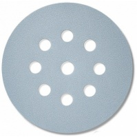 Абразивный материал в кругах D125 мм, 9 отверстий  Р400 SIA