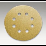 Абразивный материал в кругах D125 мм, с 8 отверстиями  Р80 SIA