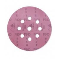 Абразивный материал в кругах D125 мм, с 9 отверстиями  Р800 SIA