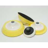 TOR 3000 Диск-основа (оправка)  D125ммх30мм, высокая, М14, мягкая, бел-желт для полировальных кругов