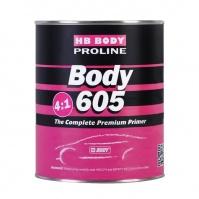 Грунт BODY PROLINE 605 4:1 2K черн. 0,8 л