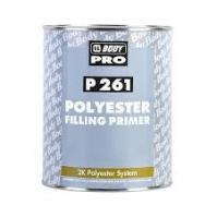 Грунт-наполнитель полиэфирный Body P261 2К   сер. 1л