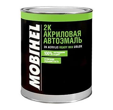 2К акриловый автолак 110 рубин (0,75 л) MOBIHEL