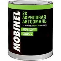 2К акриловый автолак 394 темно зеленый(0,75 л.) MOBIHEL