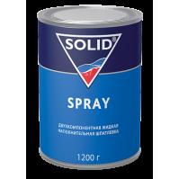 319.1200 SOLID SPRAY - (фасовка 1200 гр.) жидкая шпатлевка для окончательных работ