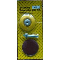 """900.15 Набор для точечного ремонта: 1 диск-подошва  с креплением, +1 абразивный кружок 3"""" (75мм). Or"""