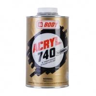 Разбавитель Body 740 ACRYL NORMAL  бесцвет. 1 л