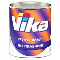VIKA Грунт-эмаль RAL 3020 транспортно-красный 0,9 кг