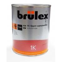 1K-Грунт-наполнитель (серый РФ) Brulex 6 x 1 ltr