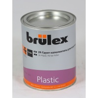2К-Грунт-наполнитель для пластика Brulex 6 x 1 ltr
