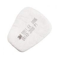 05911 3М - Предфильтр для пылей и распыленной краски (5911)Выбиваем шт