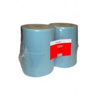 Салфетки двухслойные адсорбирующие, без ворса, голубые, 38х37см, 1000штук/рулон CarFit